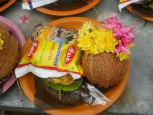 Items for Archanai at Thirunallar Temple