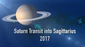 Saturn Transit to Sagittarius 2017 - 2020 -
